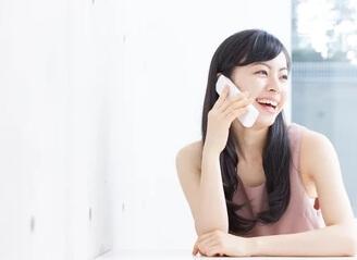 女性の電話