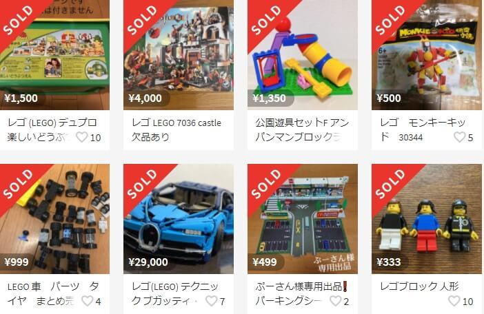 売れる意外なもの レゴ